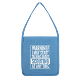 Warning I May Start Talking About Scouting Classic Tote Bag