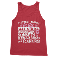 All The Best Things in Life Start With The Letter S - Camping T-Shirt Classic Adult Tank Top