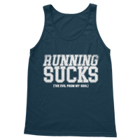 Running Sucks The Evil From My Soul Classic Women's Tank Top