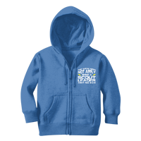 The Weak Need Not Apply Being a Scout Leader Aint No 9 to 5 Classic Kids Zip Hoodie