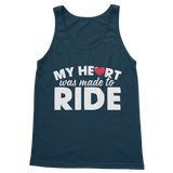 My Heart Was Made To Ride Classic Women's Tank Top
