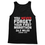 You Never Forget Your First Marathon London 2018 Classic Women's Tank Top