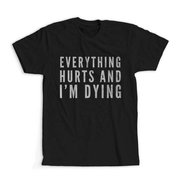 Everything Hurts And I'm Dying Tech Top