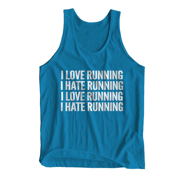 I Love Running I Hate Running Girlie Cool Vest