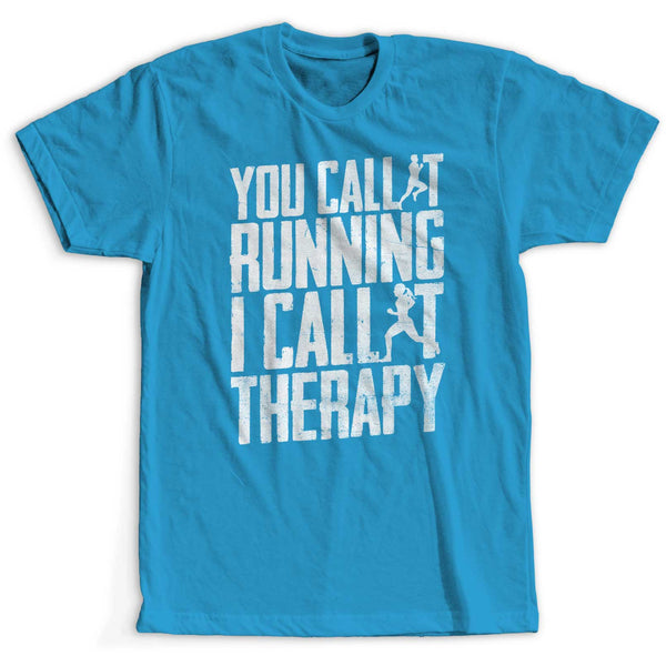 Running I Call It Therapy Girlie Tech Top
