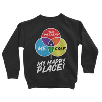 Golf is My Happy Place Classic Kids Sweatshirt