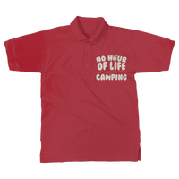No Hour of Life is Wasted With A Camping Classic Women's Polo Shirt