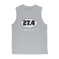27.4 Sorry I Got Lost Classic Adult Muscle Top