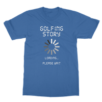 Golf Story Loading... Please Wait Classic Adult T-Shirt