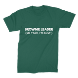 Brownie Leader (So Yeah, I'm Busy!) Guide Premium Jersey Men's T-Shirt