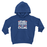 The Weekends Were Made For Cycling Classic Kids Hoodie