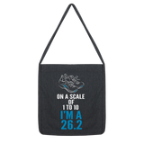 On A Scale Of 1 To 10 Marathon Runner Classic Tote Bag