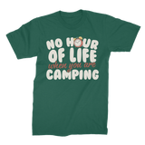 No Hour of Life is Wasted With A Camping Premium Jersey Men's T-Shirt