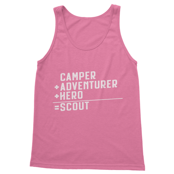 Camper + Adventurer + Hero = Scout Classic Women's Tank Top