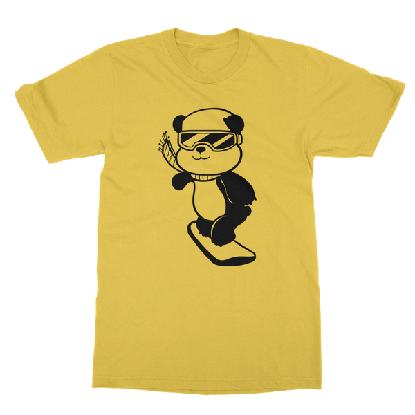 Bamboo Pete Snowboarding (DB00091) Classic Adult T-Shirt
