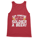 Can Someone Get This Solder a Beer! Classic Adult Tank Top