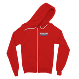 Bowling Buddy In Training Classic Adult Zip Hoodie