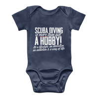 Scuba Driving is More Than Just a Hobby Classic Baby Onesie Bodysuit