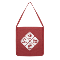 Eat, Sleep, Bowl, Repeat Classic Tote Bag