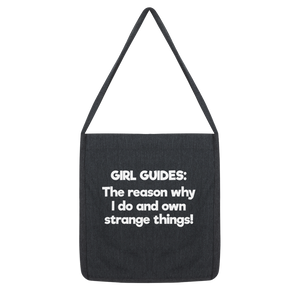Girl Guides: The Reason Why I Do And Own Strange Things! Classic Tote Bag