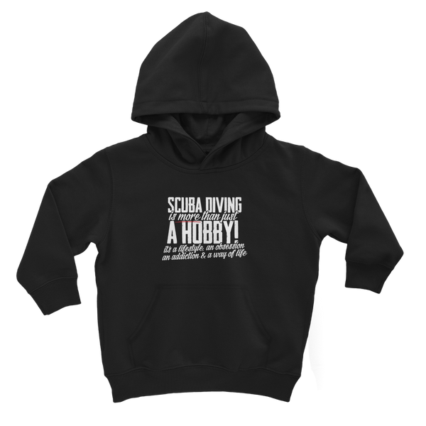 Scuba Driving is More Than Just a Hobby Classic Kids Hoodie