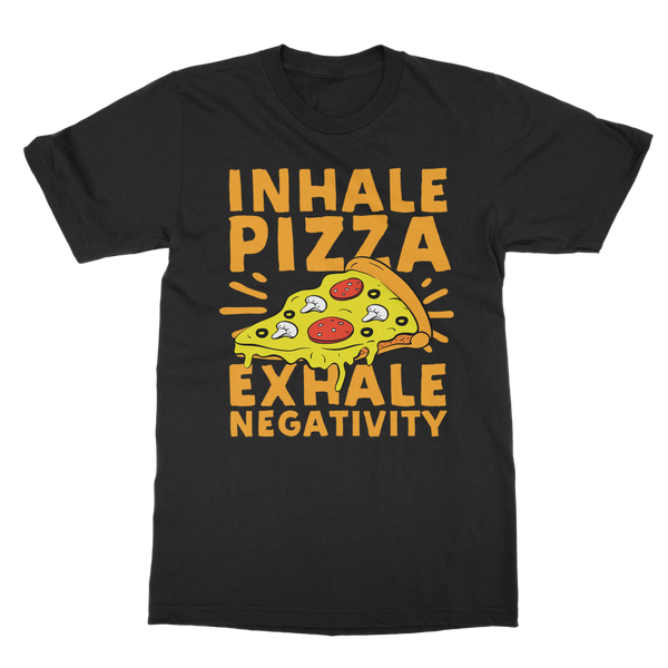 Pizza - Inhale Classic Adult T-Shirt