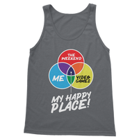 Video Games is My Happy Place Classic Adult Tank Top