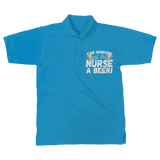 Can Someone Get This Nurse a Beer! Classic Women's Polo Shirt