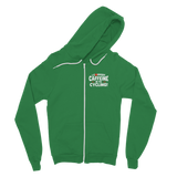 I Convert Caffeine into Cycling Classic Adult Zip Hoodie