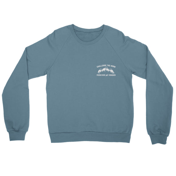 Challenge The Norm Pocket Motif Sweatshirt