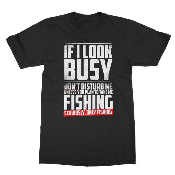 Fishing - Busy! Classic Adult T-Shirt