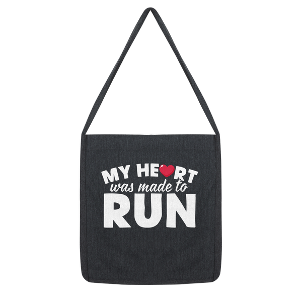 My Heart Was Made To Run Classic Tote Bag