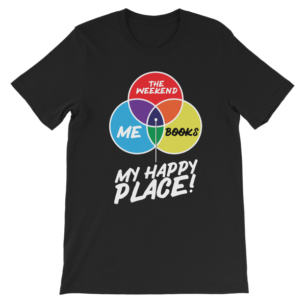 Books is My Happy Place Premium Kids T-Shirt