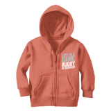 Life is a Game Rugby is Serious Classic Kids Zip Hoodie