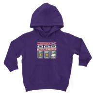 Weekend Weather Sunny With a Chance of Tacos? Classic Kids Hoodie