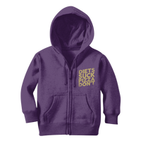 Diets Suck Pizza Don't Classic Kids Zip Hoodie