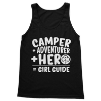Camper + Adventurer + Hero = Girl Guide Classic Adult Tank Top