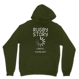 Rugby Story Loading... Please Wait Classic Adult Hoodie