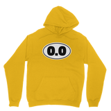 0.0 Funny Running Classic Adult Hoodie