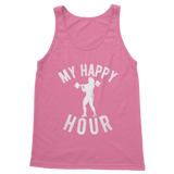 My Happy Hour Female Weightlifting Classic Women's Tank Top