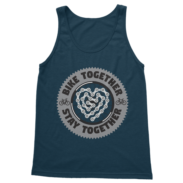 Bike Together Stay Together Classic Women's Tank Top