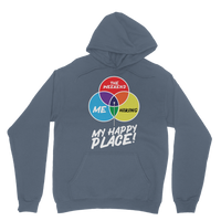 Hiking is My Happy Place Classic Adult Hoodie