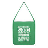 If At First You Don't Succeed Guide Leader Classic Tote Bag