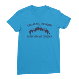 Challenge The Norm Blue Logo Classic Women's T-Shirt