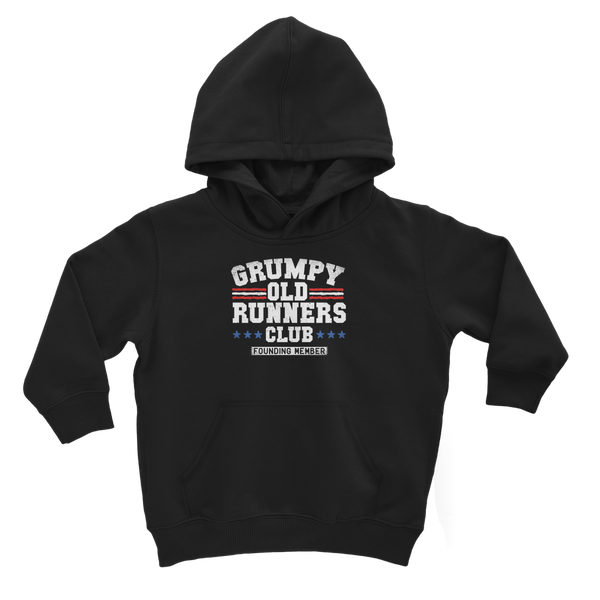 Grumpy Old Runners Club Founding Member Classic Kids Hoodie