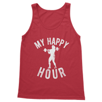 My Happy Hour Female Weightlifting Classic Adult Tank Top