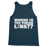 Where Is The Finish Line? Classic Women's Tank Top