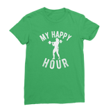 My Happy Hour Female Weightlifting Classic Women's T-Shirt