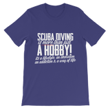 Scuba Driving is More Than Just a Hobby Premium Kids T-Shirt