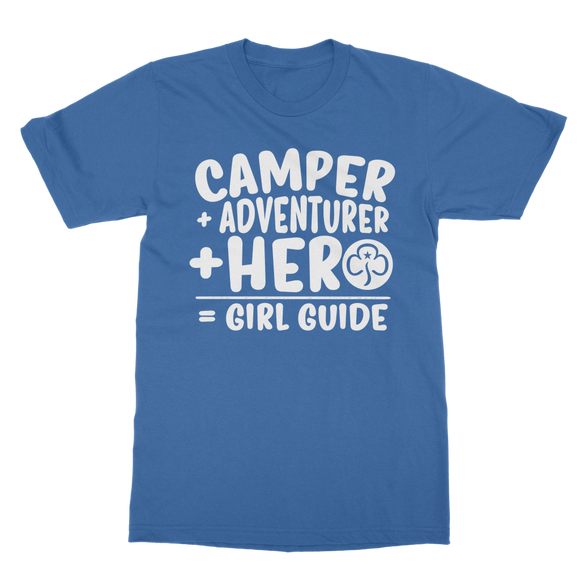 Camper + Adventurer + Hero = Girl Guide Classic Adult T-Shirt